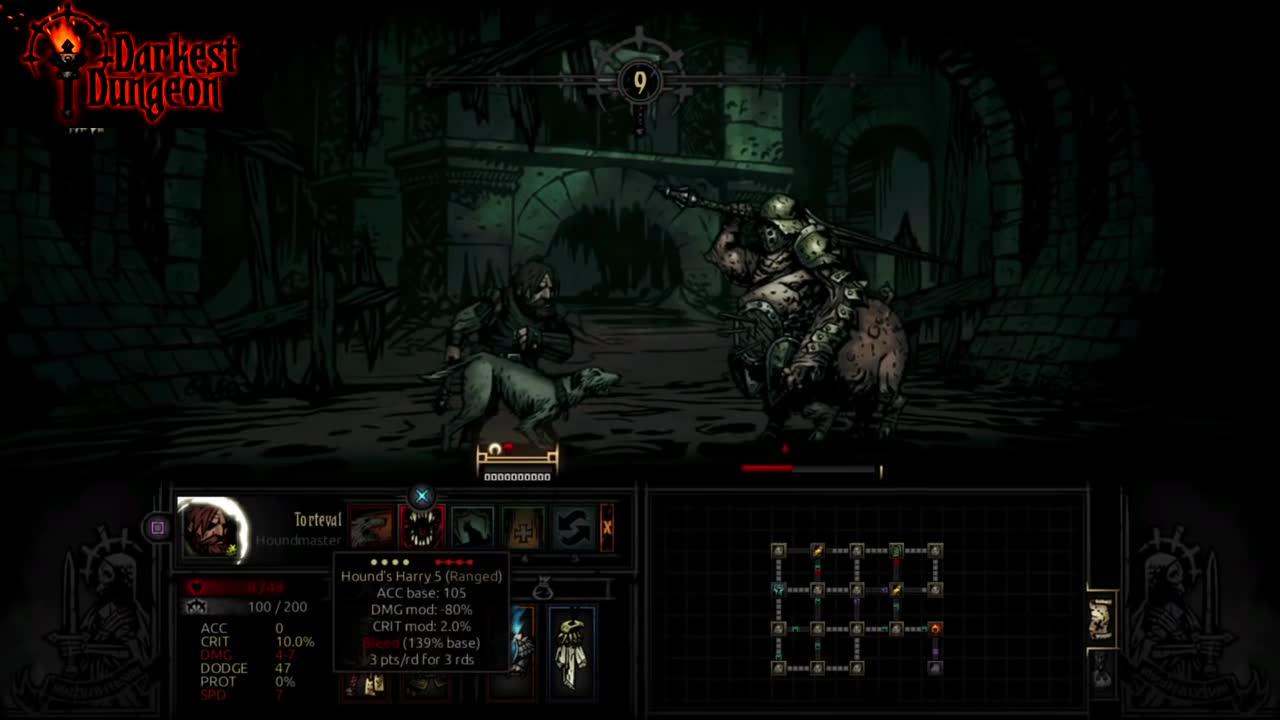 Darkest Dungeon. . roused