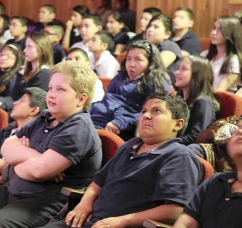 Fifth graders at a sex ed presentation. .. No post on sundays!