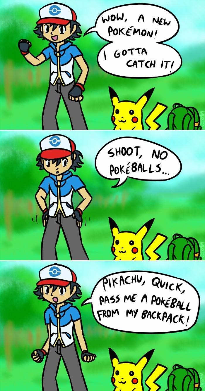 No PokeBalls!. .