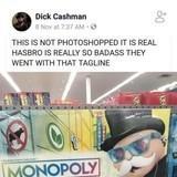 Hasbro bringing it down hard.