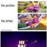 purple boy